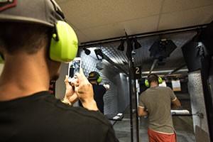 Shooting Range Selfie